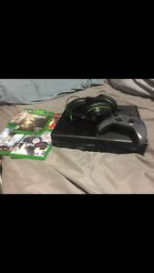 Xbox one, with games