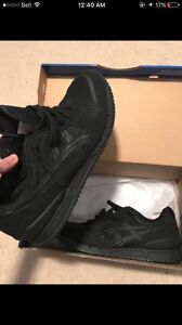 Triple Black Asics New