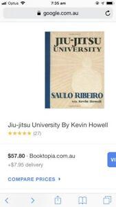 Bjj Brazilian Jiu Jitsu university book