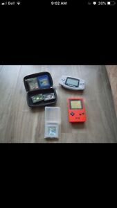 GBA and Gameboy Pocket