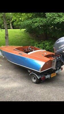 Wood speed boat  2018 15' rascal