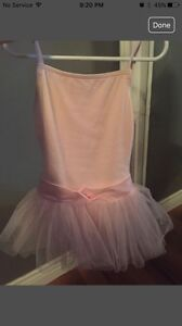 Ballet outfit with shoes and tights