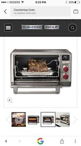 Wolf Convection counter top oven
