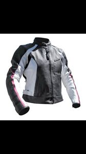 Rjays sapphire womens xs leather motorbike  jacket Greystanes Parramatta Area Preview