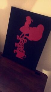 Alice in Wonderland Canvas