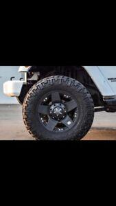 18 inch XD rockstar Jeep rims