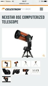 Wanted nexstar se8 telescope Huntingdale Gosnells Area Preview