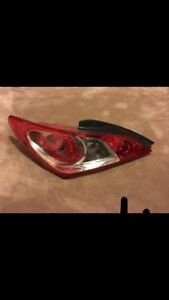 Hyundai Genesis Coupe Left Taillight