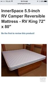 King size RV mattress - mint condition