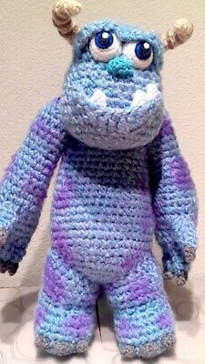 Sully From Monsters Inc Toy crochet pattern