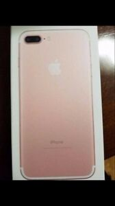 Apple iPhone 7 plus rose gold 128 brand new unlock