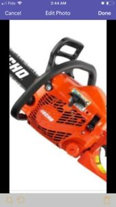 Scie a chaine chain saw echo cs310