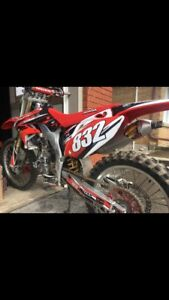 Mint 2008 crf450r fresh rebuild