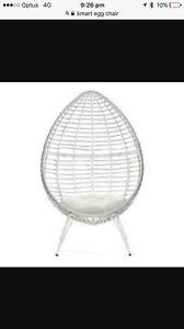 Wanting Kmart egg chair Woodcroft Morphett Vale Area Preview
