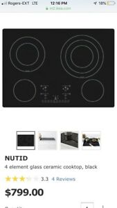 IKEA Nutid Cooktop and Wall Mount Oven Brand Nee