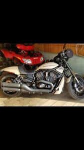 Harley Davidson night rond