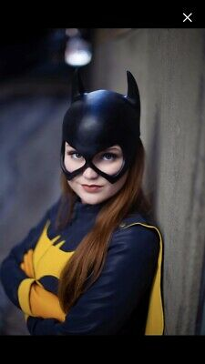 Batgirl Batwoman Batman Dark Knight Cowl Mask Cosplay 22