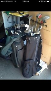 Golf clubs - golf bag