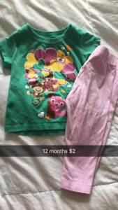 9/12 month baby girl clothes