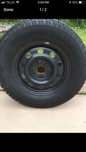 4 Cooper Discover winter tires with rims for sale