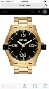 Nixon Gold Watch