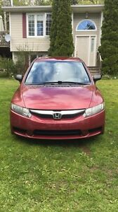Red Honda Civic Sedan 6500 obo