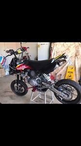 For sale 7 months rego motovert rx 160 motard lam legal Camden Camden Area Preview