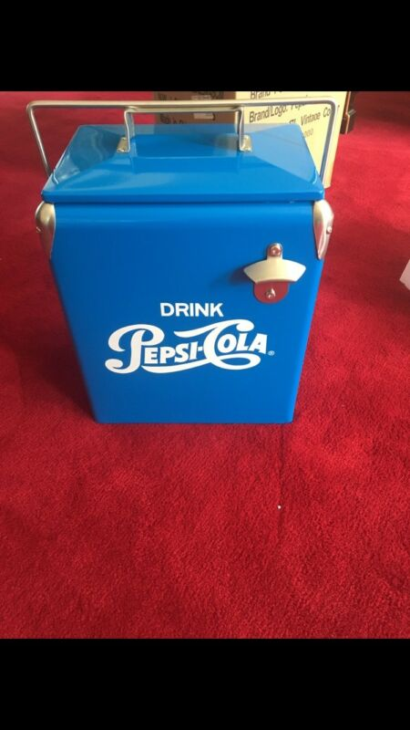 VINTAGE  DRINK PEPSI COLA COOLER
