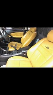 Wanted: WANTED yellow leather seats