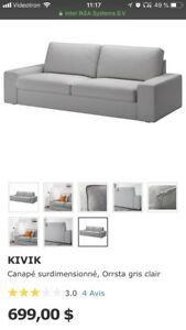 "Canapé IKEA KIVIK 98 3/8 "" (250 cm)"