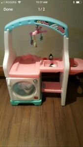 Kids toy laundry & change table