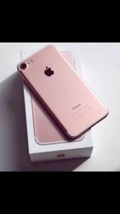 iPhone 7 32gb rose gold rogers