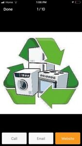 Appliance and scrap metal removal