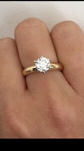 0.92ct solitaire diamond ring, valued $9918 Noble Park Greater Dandenong Preview