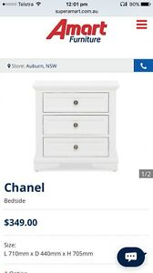 Chanel 3 drawer bedside Mona Vale Pittwater Area Preview
