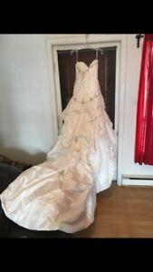 Robe de mariée et soulier