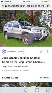Wanted: WTB Snorkel for 2004 Jeep Grand Cherokee 2.7