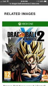 Dragon Ball Xenoverse 2 or Dragon Ball Fighterz Xbox One