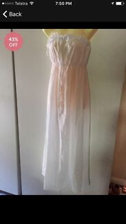 White dress size 10 Russell Island Redland Area Preview