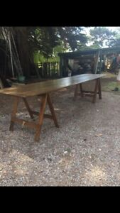 French Farmhouse Tressel Table  Yarraville Maribyrnong Area Preview