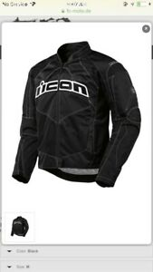 Icon motorcycle jacket Men's Large