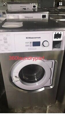 Wascomat W730cc Washer 30lb Coin 220v 1ph Or 120 1 Ph As Is