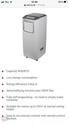 Avac9000 Portable Air Conditioner - Perfect Condition , Only Used Once