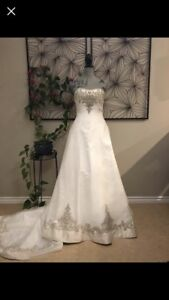 Never Worn A-Line Wedding Dress