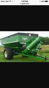 Looking for any brand grain cart with scale