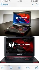 "Acer Predator Gaming Laptop 17"". New, Sealed, Unopened. No GST"