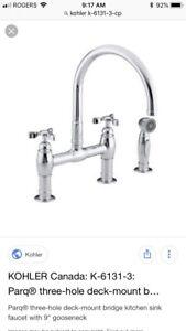 Koehler Faucet - Brand New