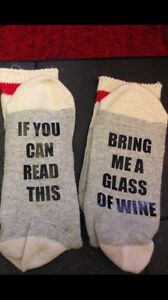 PERSONALIZED CHRISTMAS socks Oakville / Halton Region Toronto (GTA) image 1