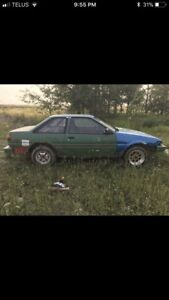 1986 Toyota Corolla AE86 part out
