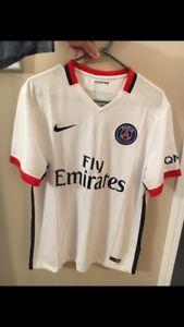 PSG white soccer jersey